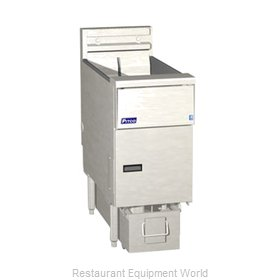 Pitco SE14S-1FD Fryer, Electric, Floor Model, Full Pot