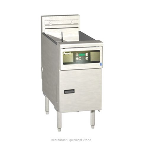 Pitco SE14XD-S Fryer Floor Model Electric Full Pot (Magnified)