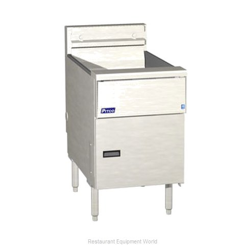 Pitco SE18-SSTC-S Fryer Floor Model Electric Full Pot
