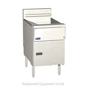 Pitco SE18R-SSTC-S Fryer Floor Model Electric Full Pot