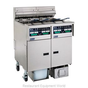 Pitco SELV14TX-C/FD Fryer, Electric, Floor Model, Split Pot