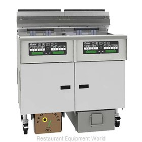 Pitco SELV184-C/FD Fryer, Electric, Floor Model, Full Pot