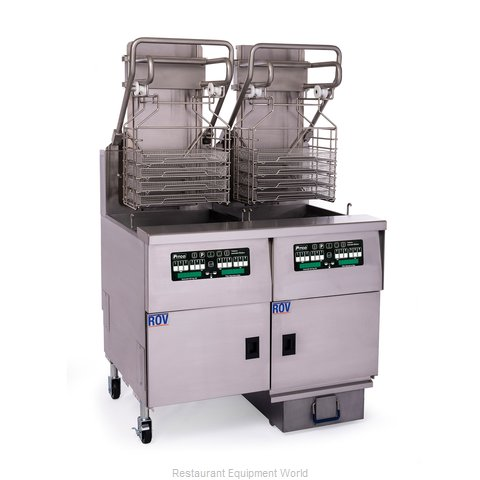 Pitco SELVRF-2/FD Fryer, Electric, Multiple Battery