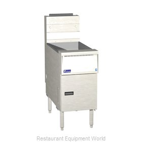 Pitco SG14RS Fryer Floor Model Gas Full Pot