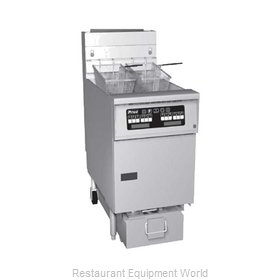 Pitco SG14S-1FD Fryer, Floor Model, Gas, Full Pot