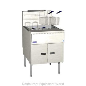Pitco SGM24-SSTC Fryer Floor Model Gas Full Pot