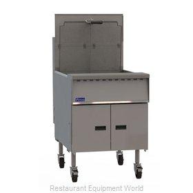 Pitco SGM24 Fryer, Gas, Floor Model, Full Pot
