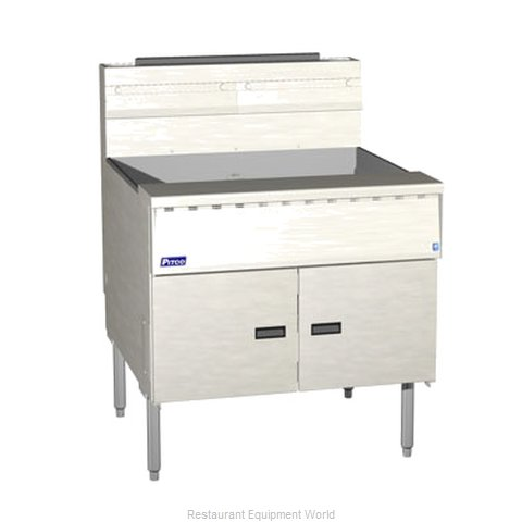Pitco SGM34-SSTC Mega Gas Fryer