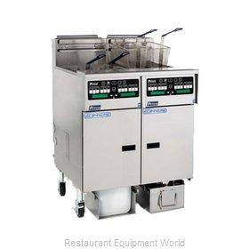 Pitco SSHLV14-C/FD Fryer, Gas, Floor Model, Full Pot