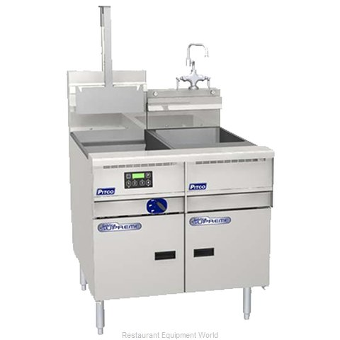 Pitco SSRE14 Pasta Rinse Station (Magnified)