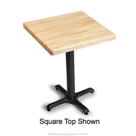 Plymold 24042BBM1 Table Top Wood (Magnified)