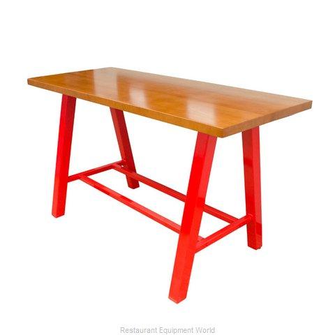 Plymold 30072SWA42 Table, Indoor, Bar Height