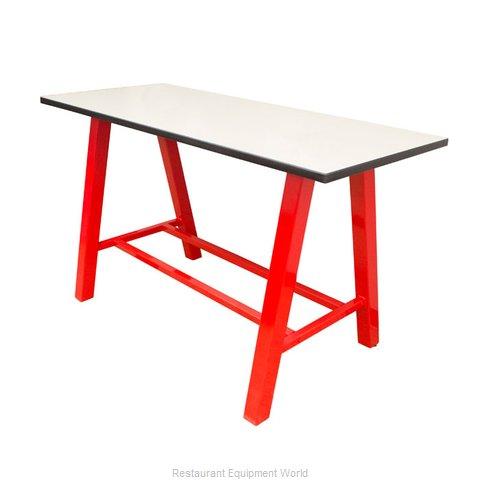 Plymold 30072TPDA42 Table, Indoor, Bar Height