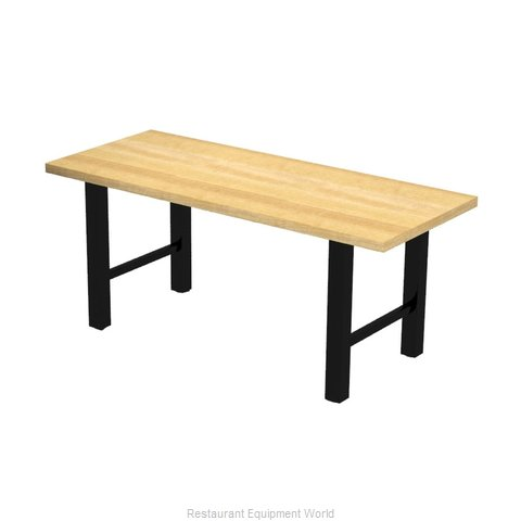 Plymold 30096SWH30 Table, Indoor, Dining Height
