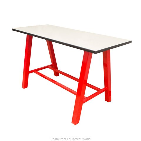 Plymold 30096TPDA42 Table, Indoor, Bar Height