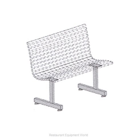 Plymold 51004S Booth Cluster Seating Support