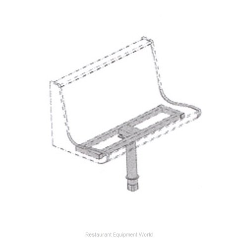 Plymold 51143D1 Booth Cluster Seating Support