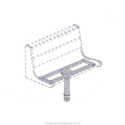 Plymold 51180D1 Booth Cluster Seating Support