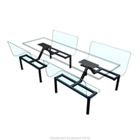 Plymold 51848S Booth Cluster Seating Support