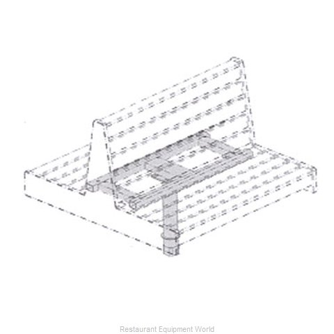 Plymold 52923D2 Booth Cluster Seating Support