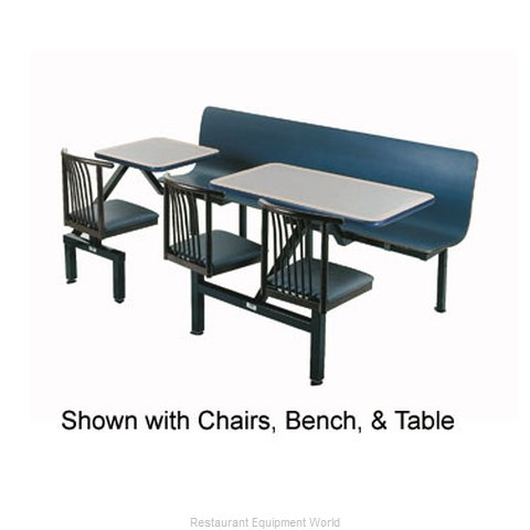 Plymold 57002D1 Booth Cluster Seating Support