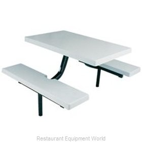 Plymold 6810ST Straight Bench