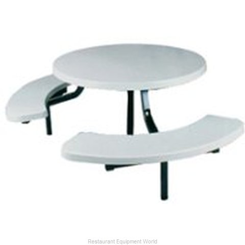 Plymold 6820ST Curved Bench
