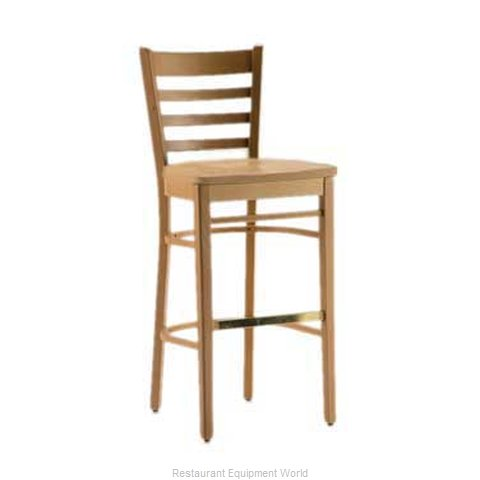 Plymold 705403SSWB Bar Stool Indoor