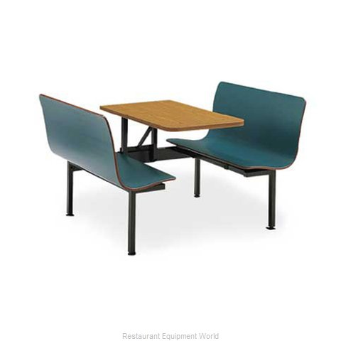 Plymold 75847ADAVE Cluster Seating Unit Indoor
