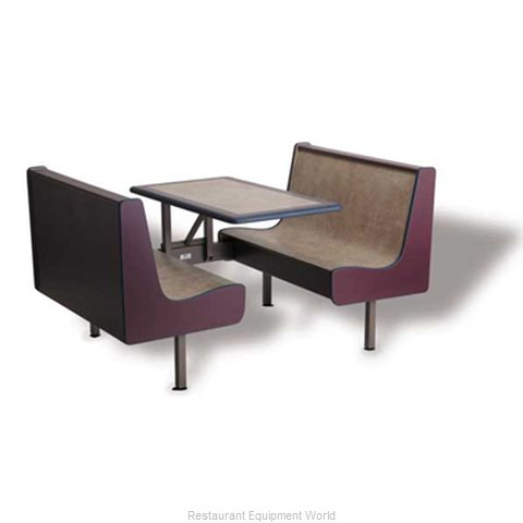 Plymold 75847SSADAVE Cluster Seating Unit Indoor