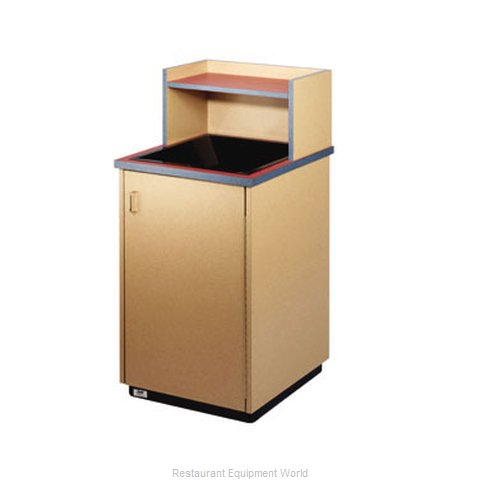 Plymold 80109WE Trash Container Cabinet