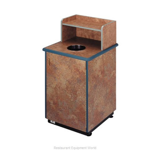 Plymold 80110WE Trash Container Cabinet