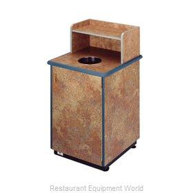 Plymold 80111DE Trash Receptacle, Cabinet Style