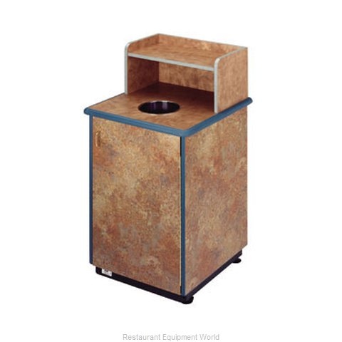 Plymold 80112WE Trash Container Cabinet