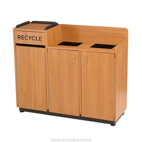 Incroyable Plymold 80140 Trash Receptacle, Cabinet Style