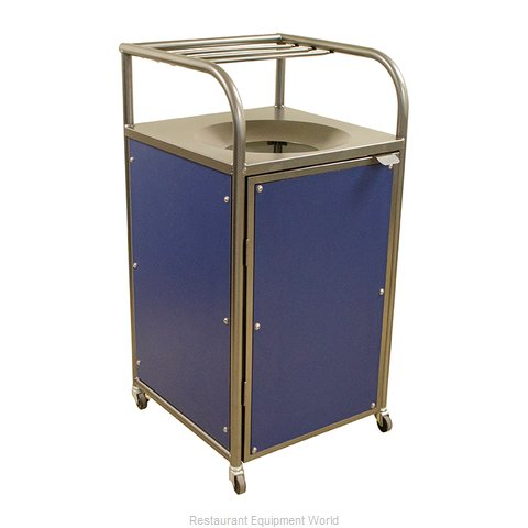 Plymold 80170 Trash Receptacle, Cabinet Style