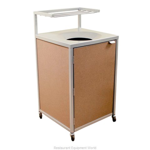 Plymold 80171 Trash Receptacle, Cabinet Style