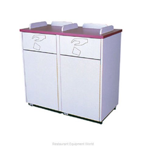 Plymold 80200WE Trash Container Cabinet