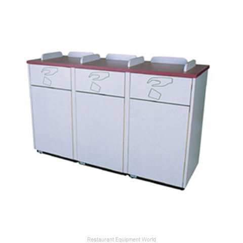 Plymold 80300WE Trash Container Cabinet