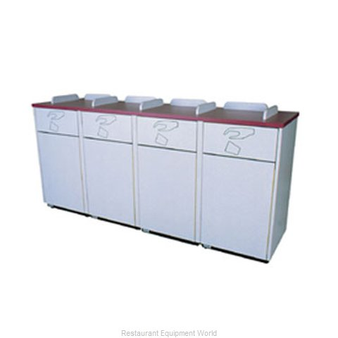 Plymold 80400WE Trash Container Cabinet