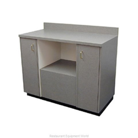 Plymold 82003DE Wait Station Cabinet (Magnified)