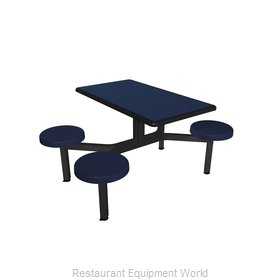 Plymold CEIS004DEBU Cluster Seating Unit, Indoor
