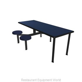 Plymold CEIS004DEBUADA Cluster Seating Unit, Indoor