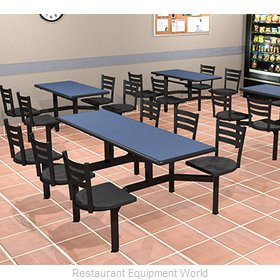Plymold CEIS004VECO Cluster Seating Unit, Indoor