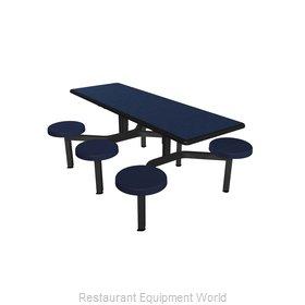 Plymold CEIS006DEBU Cluster Seating Unit, Indoor