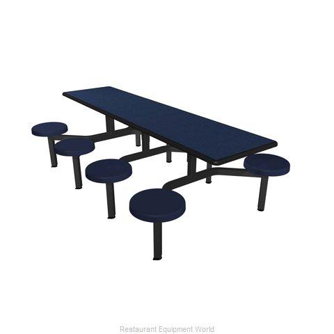 Plymold CEIS008DEBU Cluster Seating Unit, Indoor