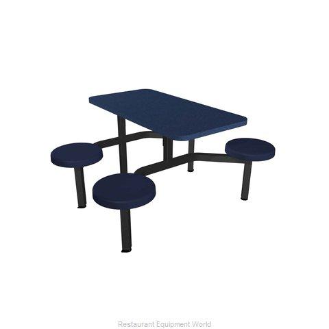 Plymold CEWL004SEBU Cluster Seating Unit, Indoor