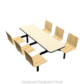 Plymold CEWL006VELE Cluster Seating Unit, Indoor