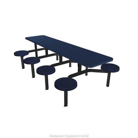 Plymold CEWL008SEBU Cluster Seating Unit, Indoor