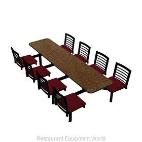 Plymold CEWL008VELA Cluster Seating Unit, Indoor